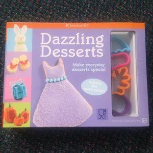 American Girl Dazzling Desserts Cookbook Baking